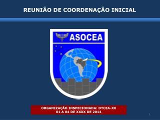 REUNIÃO DE COORDENAÇÃO INICIAL