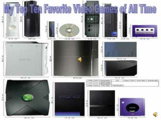 My Top Ten Favorite Video Games of All Time