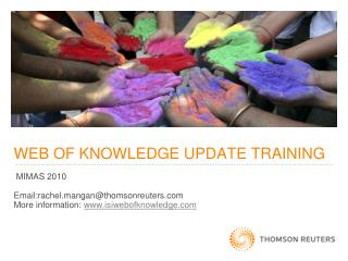 WEB OF KNOWLEDGE UPDATE TRAINING