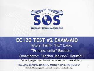 EC120 TEST #2 EXAM-AID