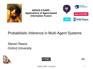 Probabilistic Inference in Multi-Agent Systems