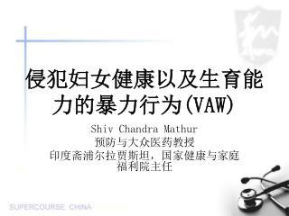 侵犯妇女健康以及生育能力的暴力行为 (VAW)