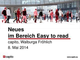 Neues  im Bereich Easy  to read
