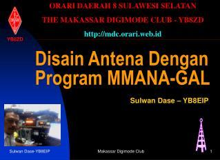 Disain Antena Dengan Program MMANA-GAL