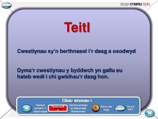 Teitl