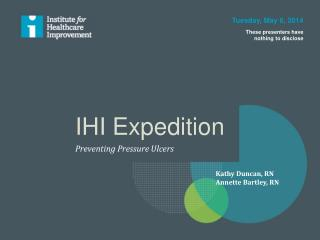IHI Expedition