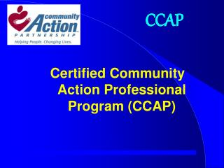 Certified Community Action Professional Program (CCAP)