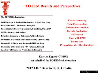2012 LHC Days in Split, Croatia