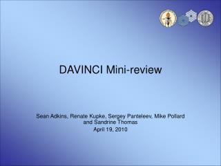 DAVINCI Mini-review