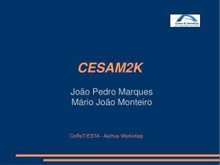 João Pedro Marques Mário João Monteiro