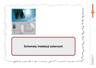 Schematy instalacji solarnych