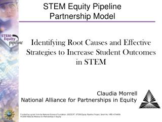 STEM Equity Pipeline   Partnership Model