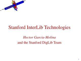 Stanford InterLib Technologies