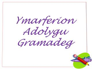 Ymarferion Adolygu Gramadeg