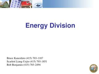 Energy Division