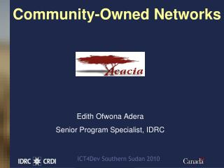 Community-Owned Networks
