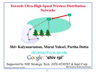 Towards Ultra-High-Speed Wireless Distribution Networks