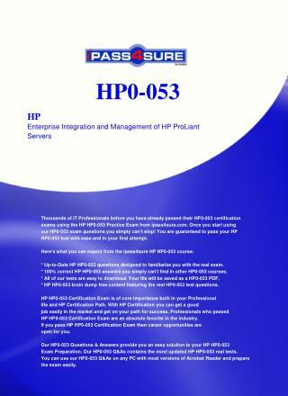 HP0-053