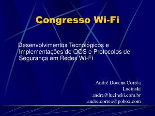 Congresso Wi-Fi