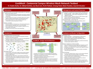 CentMesh : Centennial Campus Wireless Mesh Network Testbed
