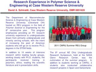 2011 CWRU Summer REU Group