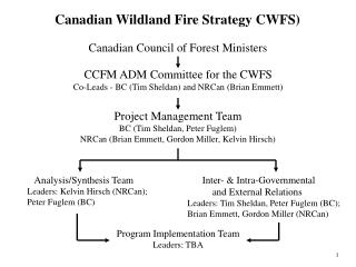 Canadian Wildland Fire Strategy CWFS)
