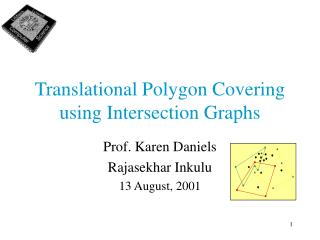 Translational Polygon Covering using Intersection Graphs