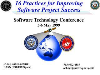 LCDR Jane Lochner DASN (C4I/EW/Space)