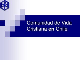 Comunidad de Vida Cristiana  en  Chile