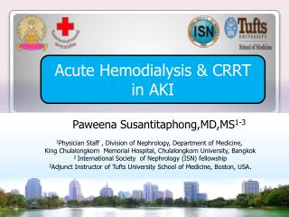 Acute  Hemodialysis  & CRRT in AKI