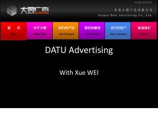 DATU Advertising