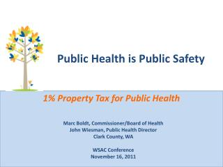 Public Health is Public Safety