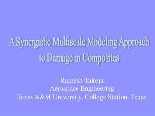A Synergistic  Multiscale  Modeling Approach  to Damage in Composites