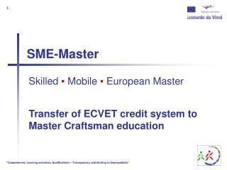 SME-Master
