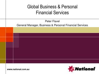 Global Business & Personal Financial Services