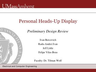 Personal Heads-Up Display