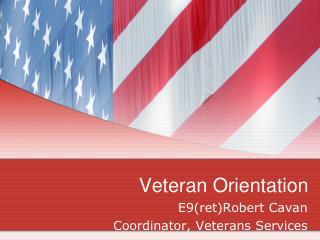 Veteran Orientation