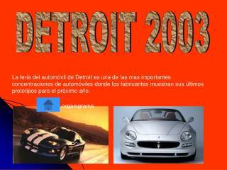 DETROIT 2003