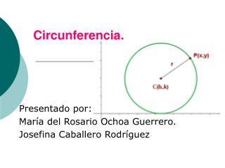 Circunferencia.