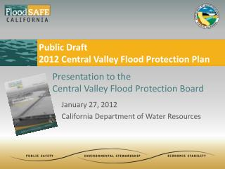 January  27, 2012 California Department of Water Resources