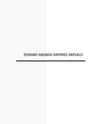 EDWARD ANUNDO RAMIREZ AREVALO