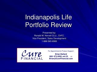 Indianapolis Life Portfolio Review