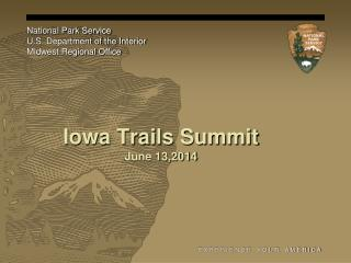 Iowa Trails Summit  June 13,2014