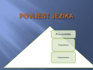 POVIJEST JEZIKA