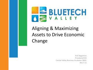 Aligning & Maximizing Assets to Drive Economic Change