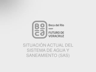 SITUACIÓN ACTUAL DEL SISTEMA DE AGUA Y SANEAMIENTO (SAS)