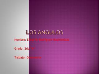 Los Angulos