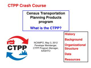 CTPP Crash Course