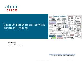 Cisco Unified Wireless Network Technical Training