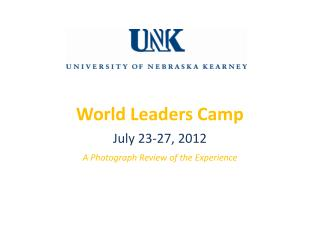World Leaders Camp